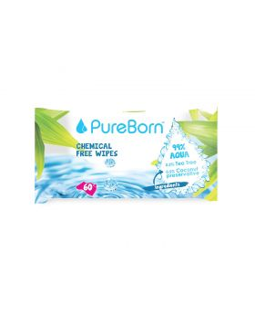 60's Natural Baby Wipes - Single Pack